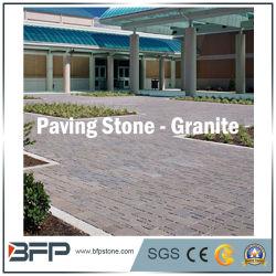 Mosaico de jardín de granito natural / adoquines adoquines para el paisaje al aire libre