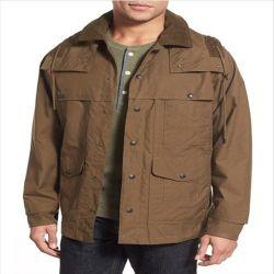2016 남성용 버튼 스타일 롱 트렌치 작업 재킷