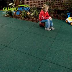 Mattonelle a terra della gomma del quadrato della strada privata di pavimento delle mattonelle del gioco esterno del cane