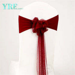La presidenza di Lycra dello Spandex di cerimonia nuziale copre il telaio elastico della presidenza