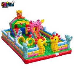 Personalizar el Ocean Star saltar de la casa de aire inflables castillo inflable gorila para niños