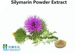 Травяной медицине молоко чертополоха извлечения порошок Silymarin 50% Silymarin порошок