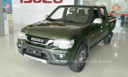 Van de Diesel van Isuzu 4X4 Commerciële Bestelwagens de Dubbele Bestelwagen van de Rij