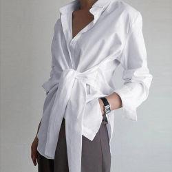 All'ingrosso ultimo design Moda Top Blouse Donne nuove camicie modello Fascetta anteriore superiore