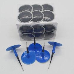 Bouchon à tête bombée PVC adhésif Patch réparation de pneu en caoutchouc