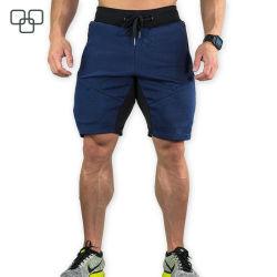 Shorts di ginnastica del sudore dei vestiti di allenamento degli uomini di atletismo di forma fisica