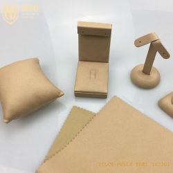 Wsg Personalizar Exibição de jóias em couro sintético de moda tampa da caixa de oferta para venda