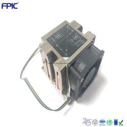 Échangeur de chaleur carrés ordinateur industriel de dissipateur thermique du dissipateur de chaleur refroidisseur CPU de serveur 2U