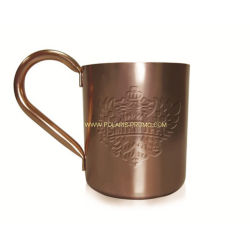 Moscú Mule Cóctel de cobre de taza de vino