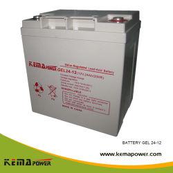 Gel 100-12D-15 productos estándar de la batería recargable de la energía solar para UPS