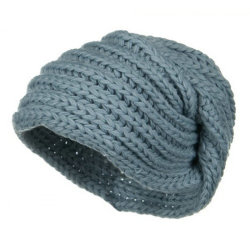 Women's Knit Beanie Cap d'enrubannage