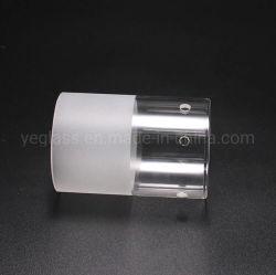 Coperchio libero glassato saltato di illuminazione dello schermo di lampada del tubo di vetro del Borosilicate del cilindro