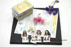 Het Spel van de Raad van de Speelkaarten van het Document van de douane voor Jonge geitjes