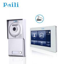 Appareil photo numérique 720p IP WiFi Téléphone Sonnette de Porte d'Interphone vidéo étanche pour répondre à la porte d'appui Bell sur Smart Phone