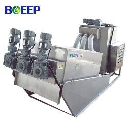 المعالجة الفيزيائية للمياه العادمة ISO/SGS/CE وصمحة الضغط قبل التقشر المياه