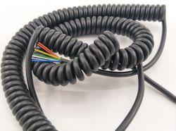 Электрические Stretchable высокоэффективные спирального провода пружины форму кабель удлинительный шнур Китая производителя