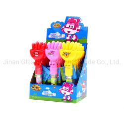 Venda a quente Papel Pedra Tesoura Candy Toy