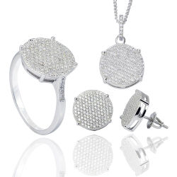 Juwelen 925 van de manier Echte Zilveren Juwelen die voor Vrouwen worden geplaatst