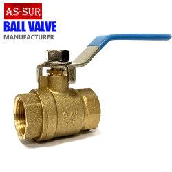 十分に溶接された産業真鍮水球弁を減らす高圧
