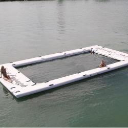 Док-вычислений с плавающей запятой Flatform портативный ПВХ надувной бассейн для Yatch