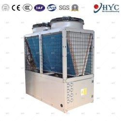 Vloer van de van de bron lucht het Verwarmingssysteem Van de Warmtepomp met de Warmtewisselaar van het Titanium