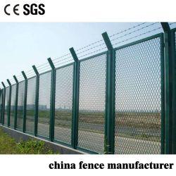 反上昇の空港のための保護低炭素の溶接された拡大された金属線の網の塀か刑務所または農場または牧場
