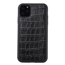 Nouvelle arrivée bonne qualité grain crocodile cuir Mobile étuis de téléphone Pour iPhone 11