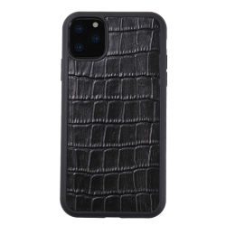 Новые поступления хорошего качества крокодиловая кожа зерна случаев мобильного телефона iPhone для iPhone 11