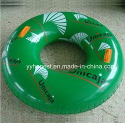 Оптовая торговля индивидуального логотипа надувные поплавать с плавающей запятой кольцо для взрослых есть кольцо