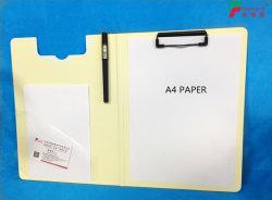Nouveau Dossier de presse-papiers avec porte-plume et Pocket