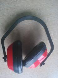 防音保護具のSnr 23dBの赤いABSヘッドバンドのイヤーマフ