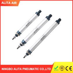Le matériel standard Mini en alliage aluminium Type de piston des vérins pneumatiques Micro
