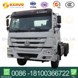 Verwendetes Sinotruk HOWO 10X dreht des Hand371hp375 zweites Schlussteil-Kopf-Traktor-Kopf-LKW-heißen Verkauf Afrika Traktor-LKW-Hochleistungs-LKW-6X4