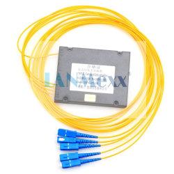 Gli ABS inscatolano il PLC ottico del divisore del divisore 1X8 della fibra con il connettore dello Sc