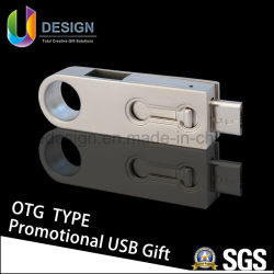 DIY OTG de Aandrijving van de Pen van de Flits van het Embleem USB