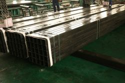Il tubo vuoto della barra d'acciaio della sezione dei tubi d'acciaio di Rhs HSS di SAE1008 Shs profila il tubo d'acciaio d'acciaio quadrato della l$signora Hollow Section Iron Square del tubo di Shs 500X500 della costruzione