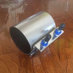 Bande unique en acier inoxydable double bande triple bande tuyau de fuite de pipeline de l'eau/du tuyau de pression de blocage rapide facile les pattes de réparation pour les PE/PVC/tube en PEHD