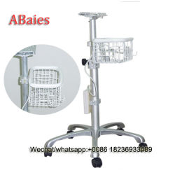 La Chine avec panier chariot moniteur patient