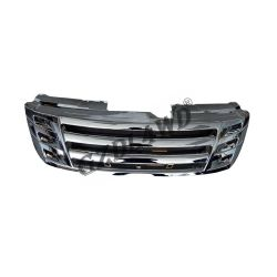 2012-2014 voiture ABS chromé Grille de la plaque d'Isuzu Dmax Accessoires