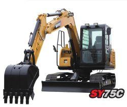 Sany Си75c 7т купить Китай экскаваторов массой движущей силой для продажи