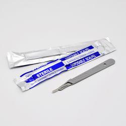 Одноразовые стерильные углеродистой стали размеров хирургических ручка ножа