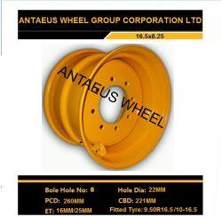 Jante de roue Industrual, chariot élévateur à fourche Jante de roue 16,5 X8.25, 16,5x9.75