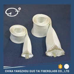 Haute résistance à la température de l'uncoated gaine en fibre de verre