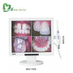 Moniteur 17 pouces avec Wired Dental intra-oral de 1/4 de la caméra Sony CCD/ 3.0MP et fonction WiFi