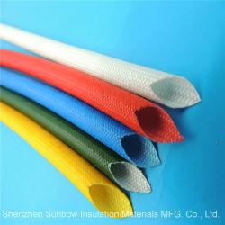 Fil électrique 1.2kv Isolation thermique en fibre de verre tressée gaine de silicone