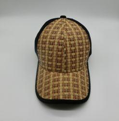 패션 스트로 패브릭 메쉬 트러커 여름용 블랭크 야구 모자