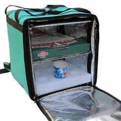 Isolation étanche personnalisé thermique du refroidisseur d'Pizza boîtes de livraison de nourriture des sacs à dos