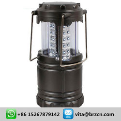 Prix bon marché d'urgence en matière plastique ABS 3*AA Lanterne alimenté par batterie