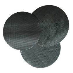 Rete metallica di superficie regolare del ferro del tessuto di saia per industria di gomma