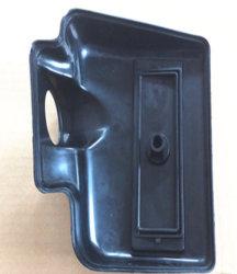 Cache de poignée de verrouillage automatique du couvercle de stockage de boîte à gants moule à injection
